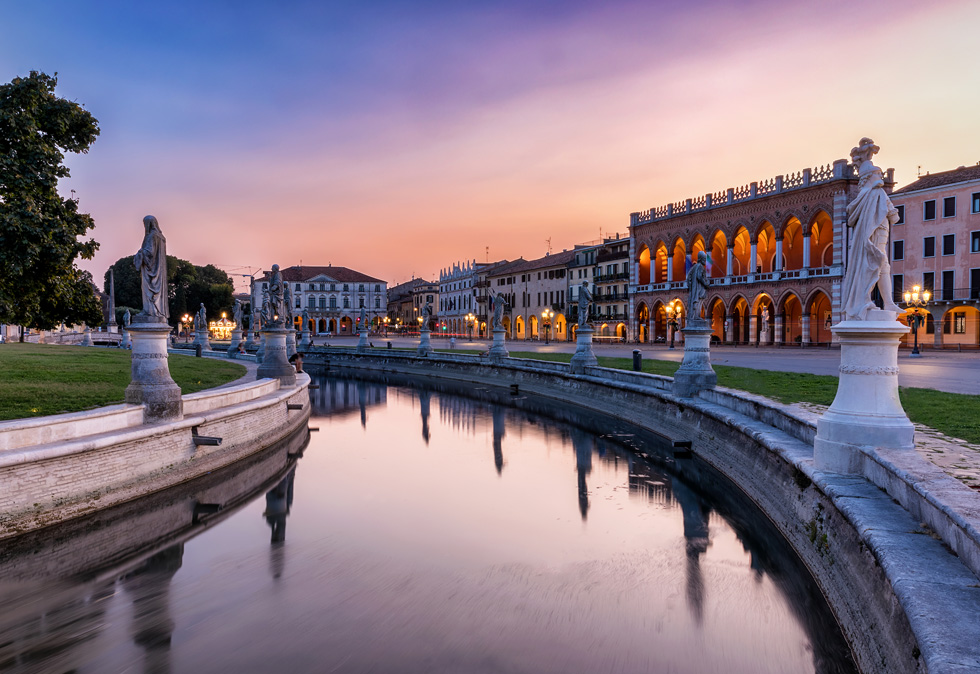 Pranzo o cena visitando Padova